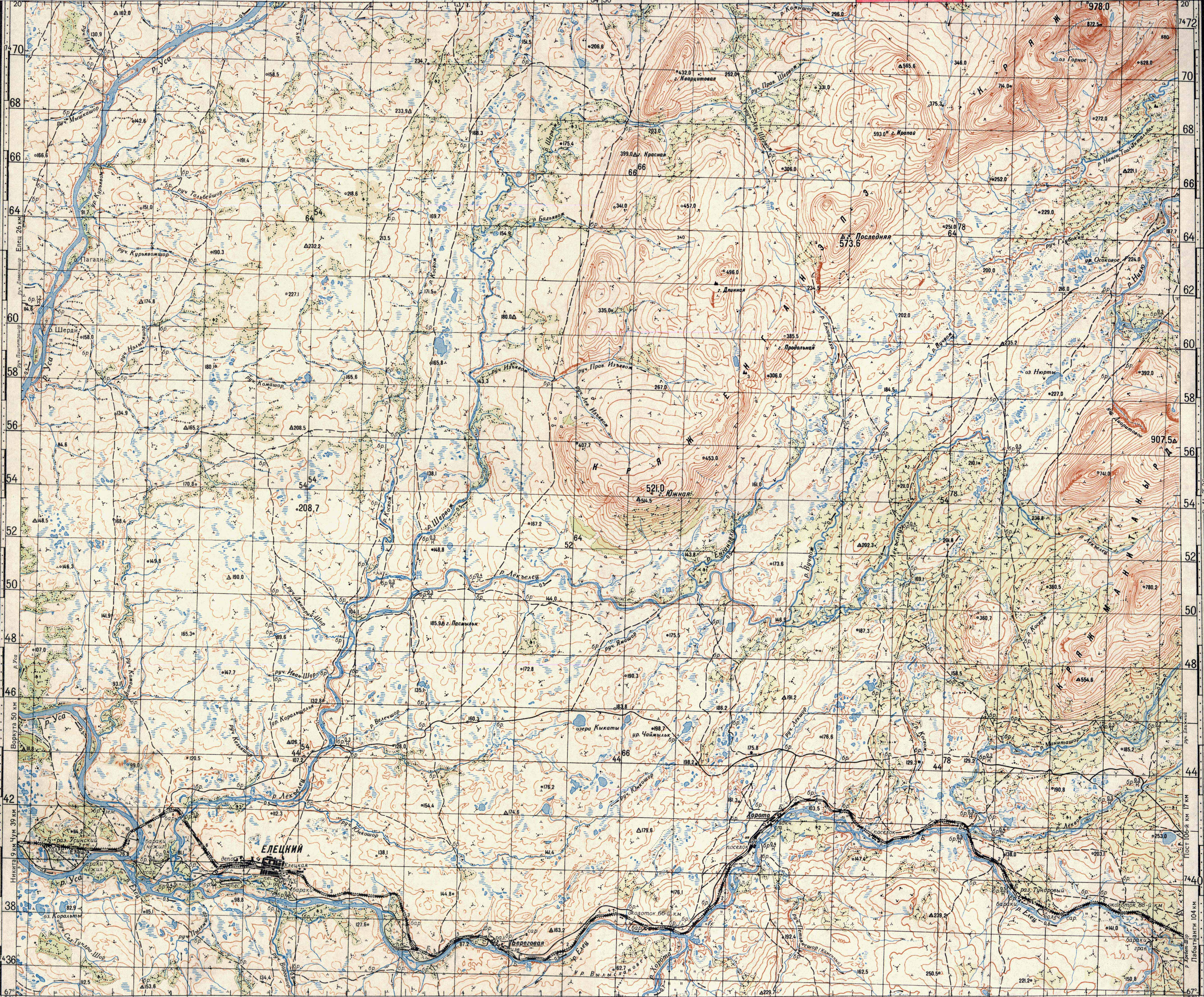 Карта Карелия Километровка.Rar